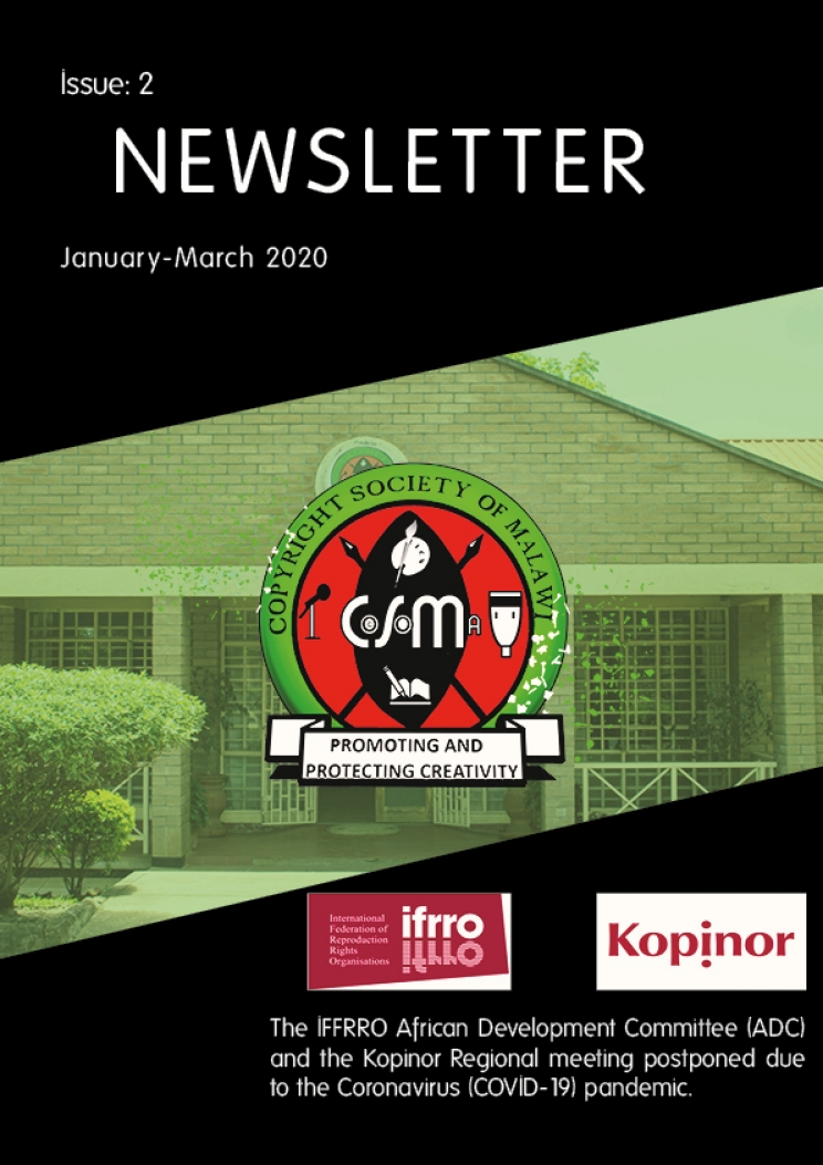 First Quarterly Newsletter of 2020 Coming Soon!!