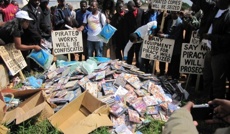 COSOMA seizes pirated material